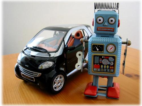 「おにぎり号とブリキのロボット」